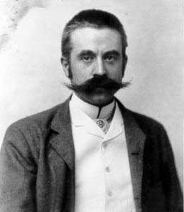 Stanford White, photo by George Cox ca. 1892