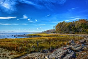 Greenwich Point Park is one of the most beautiful beaches near Greenwich, CT
