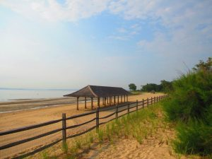 Todd's Point is the local name for one of the best beaches near Greenwich, CT