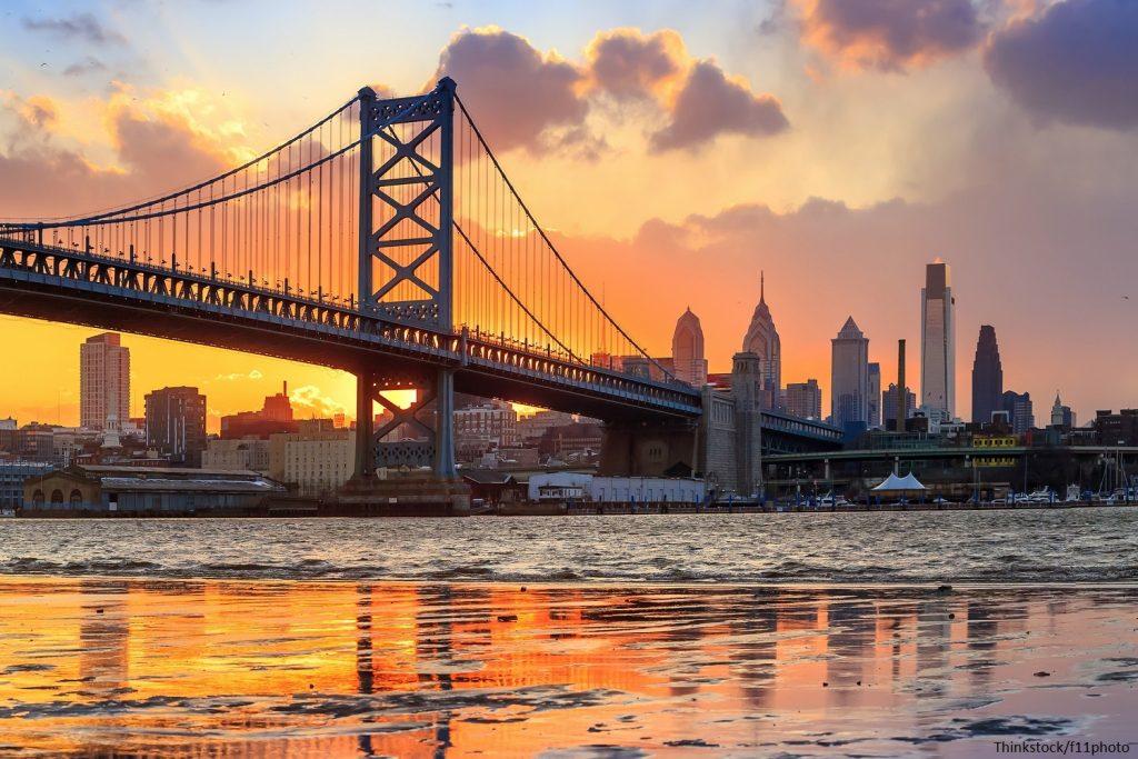 View of Philadelphia on weekend getaways near Philadelphia
